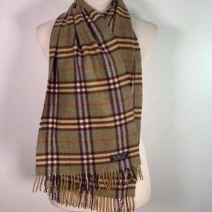 BURBERRY Scarf Lambswool Authentic XX452